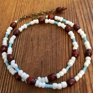 Men's Beach Ready Beaded Necklace,  Men's Jewerly